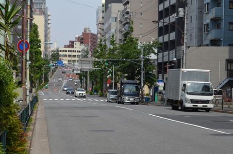 自転車で散歩 文京区界隈
