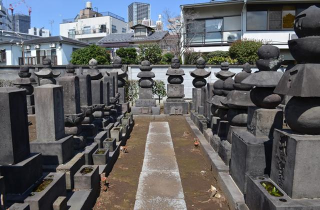 護国寺歴代墓