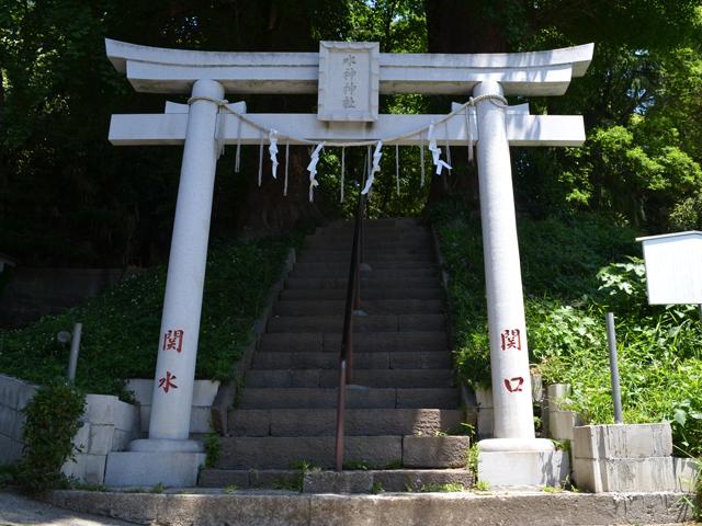 水神社-神楽坂散歩