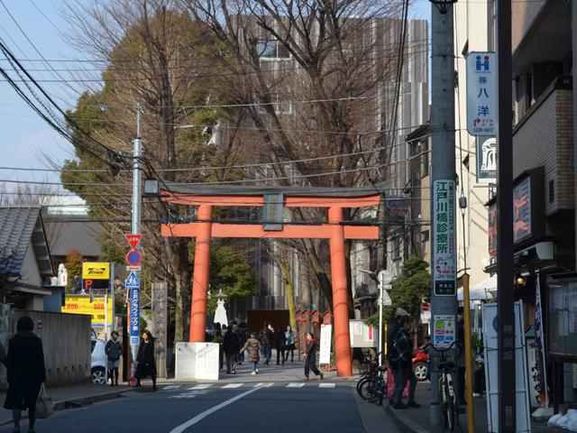 赤城神社-神楽坂散歩