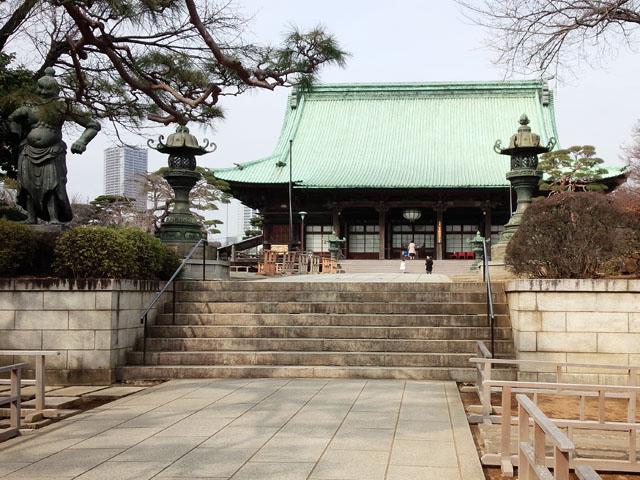 文京区有楽町線護国寺駅から本堂までの階段の数を数えました