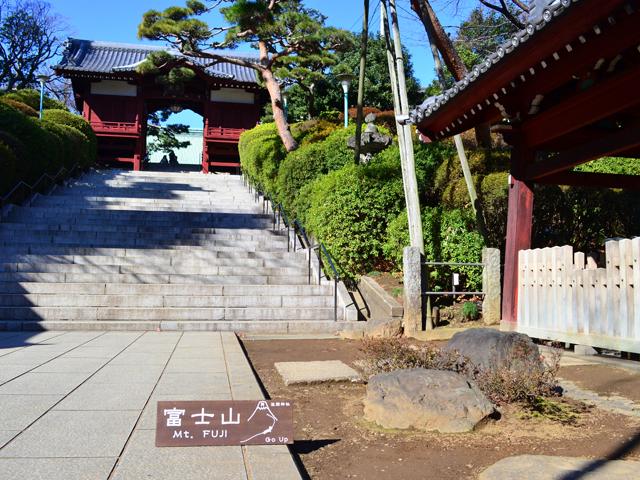 音羽富士(富士塚)!護国寺境内で標高6メートルの富士登山に挑戦