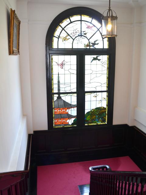 文京区鳩山会館ステンドグラス