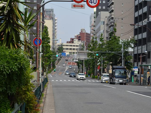 文京区 富士見坂