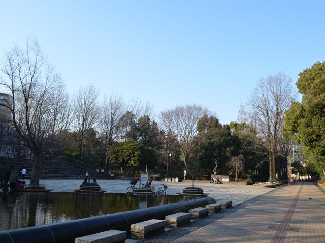 教育の森公園・大きな人工池