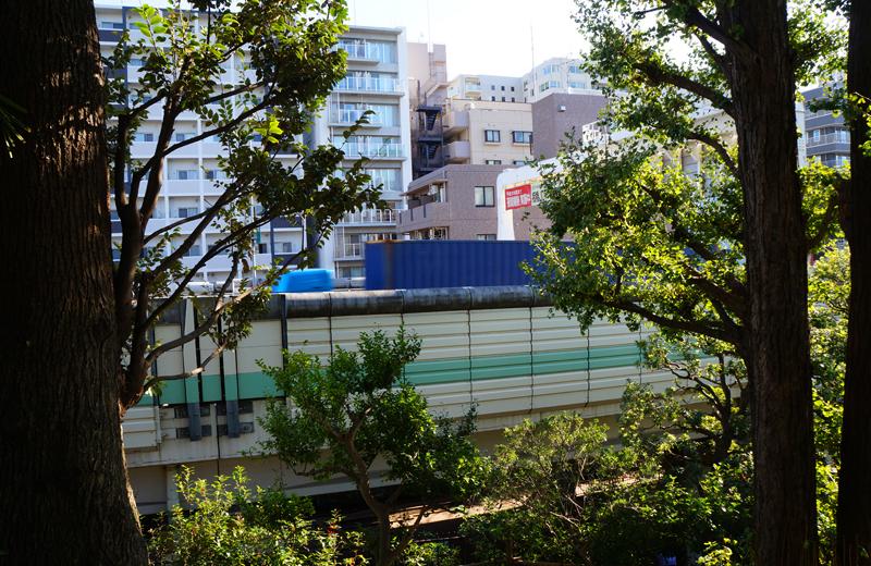 文京区関口台公園から首都高速