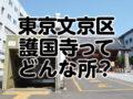 東京都文京区の護国寺ってどんな所?家賃・治安・住みやすさを紹介