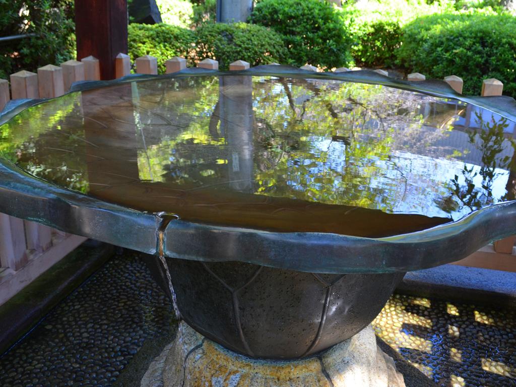 護国寺 手洗水