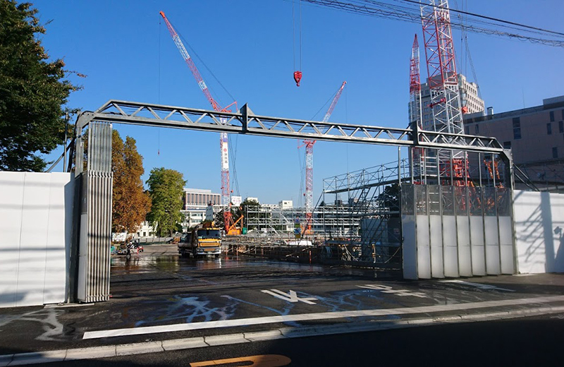東京大学医学部附属病院分院跡地(目白台国際宿舎)現在の様子