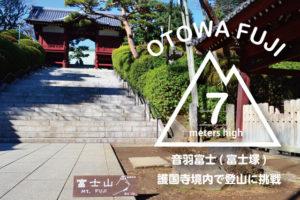 音羽富士(富士塚)!護国寺境内で標高7メートルの登山に挑戦