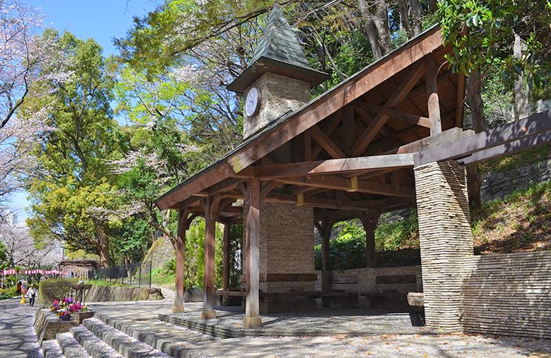 江戸川公園、時計塔