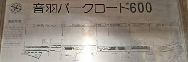 音羽パークロード600案内図