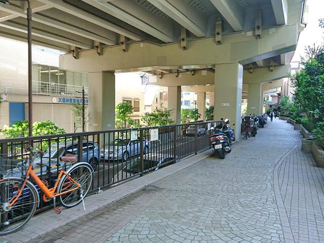 音羽パークロード600遊歩道ゾーン