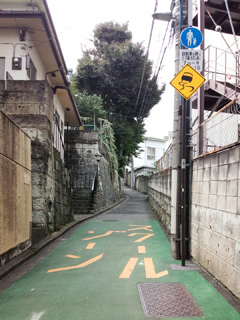 文京区鉄砲坂