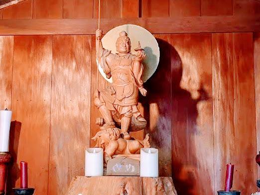 毘沙門天(源覚寺)/小石川七福神